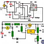 Fuente de Voltaje variable 4A con LM317