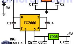 Cómo Hacer una Fuente Simétrica de +/- 5V?
