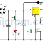 Fuente de voltaje variable de 5 A con LM338