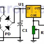 Fuente de voltaje variable con LM317T (circuito impreso)