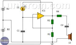 Cómo Hacer un Generador de Sonido Sensible a la Luz? (LDR, 741)