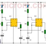Generador de tonos con dos 555 (Generador de sonidos)