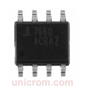 ICL-7660 - Convertidor de voltaje CMOS