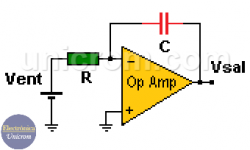 Integrador con Amplificador Operacional