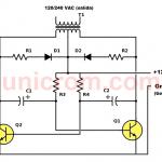 Inversor 12VDC a 120VAC con dos transistores
