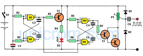 Inyector de señal audio y radiofrecuencia