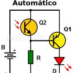 LED nocturno automático (circuito impreso)