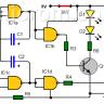 ¿Cómo hacer LEDs intermitentes para caminantes nocturnos?