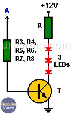 Semáforo electrónico (arreglo de los LEDSs)