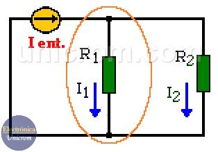 Ley de corrientes de Kirchhoff (ejemplo 2)