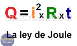 ¿Qué es la Ley de Joule? Fórmula de la Ley de Joule