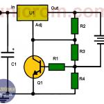 Limitador de corriente con LM317 para cargador de batería 6V