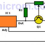 Limitador de corriente para fuentes de voltaje