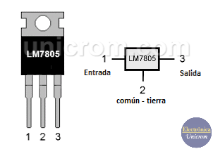Regulador de voltaje LM-7805