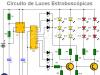 Circuito Luces de Automóvil Policía (Estroboscópicas)