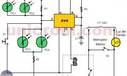 Controlador automático de luz para garaje
