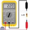 Medir resistencia, impedancia en CA