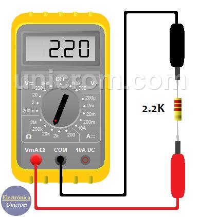 ¿Cómo medir una resistencia o Impedancia en AC?