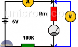 Medir resistores / resistencias sensibles