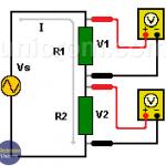 Medir voltaje y corriente en AC