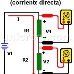 Multímetro - Medir Resistencia y Voltaje en CD