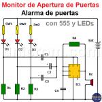 Alarma para Puertas - Monitor de apertura de puertas