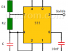 Multivibrador astable con temporizador 555