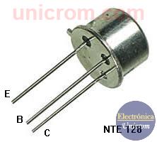 Transistor bipolar NPN NTE 128