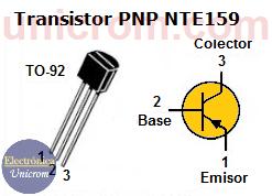 Transistor PNP NTE 159