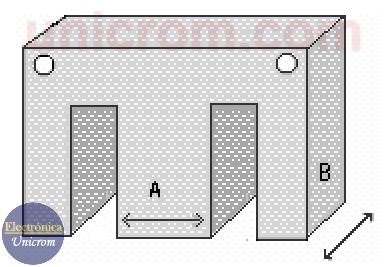 Núcleo de un transformador - Cálculo de transformadores