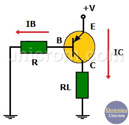 Polarización Transistor PNP - Diferencia entre transistores NPN y PNP