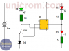 Circuito probador de IC 555  (circuito impreso)