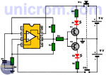 Probador de amplificador operacional 741 o similar
