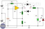 Cómo Hacer un Probador de Diodos con 741 y LEDs?