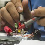 Localizar fallas en circuitos electrónicos