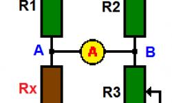 Puente de Wheatstone - Medidor de resistencias de precisión