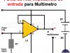 Punta de Alta Impedancia para Multímetro
