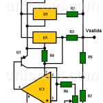 Fuente de voltaje variable 4 amp con tres LM317