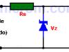 Regulador de voltaje con diodo Zener
