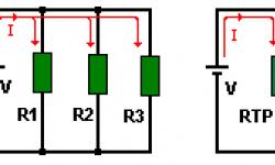 Resistencias en paralelo - Resistores en paralelo