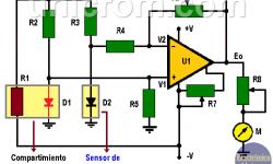 Cómo Hacer un Medidor velocidad del viento con diodo