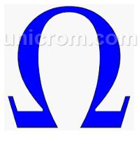 Ohmio - Símbolo de la Unidad de resistencia