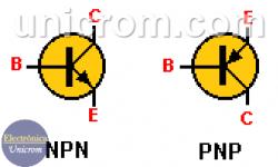 Diferencia entre transistores NPN y PNP