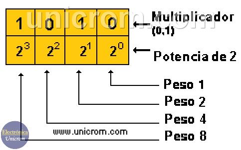 Funcionamiento del Sistema de Numeración Binario