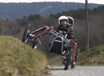 Swincar - Vehículo eléctrico personal todo-terreno