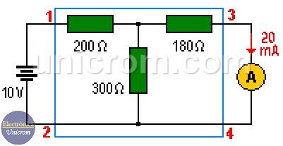 Teorema de reciprocidad (primer circuito)