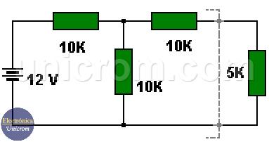 Teorema de thevenin, circuito original