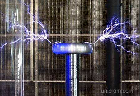 Bobina de Tesla. Teoría de funcionamiento
