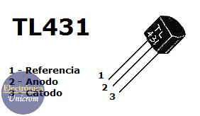 TL431 - Referencia de voltaje de precisión programable