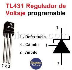 TL431 - Regulador de Voltaje programable